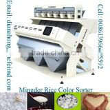 Rice Color Sorter, Rice Sorting machine, Rice grader small rice color sorter agent price