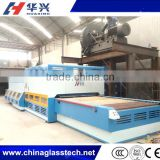 CE certificate advanced heating automatic glass bending tempering furnace