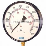 Bourdon Tube Pressure Gauges Large Diameter Industrial Gauge Type 211.11 - Brass Wetted Parts Type 231.11