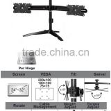 Aluminum Desk Dual LCD monitor arm stand mount
