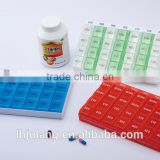 Wholesale 28 compartments plastic weekly pill box