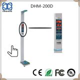 DHM-200D Ultrasonic height and weight scale with printing and bluetooth