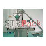Pharmaceutical filling machine , Auger Powder Filling Machine for  condiment solid drink