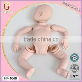 quality guarantee reborn baby dolls silicone/new hot sale silicone reborn baby dolls molds/full body silicone reborn doll kits