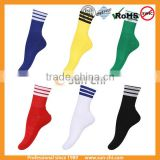 black customize knee high performance nylon compression socks/mens compression sport soccer socks