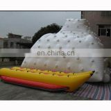 inflatable water iceberg, inflatable water mountain, inflatbale banana boat. water park