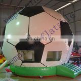 funny inflatable football castle for sale JC033