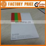 Custom Design Memo Pad Adhesive Pallet Memo Pad Clip Sticky Note With Cover