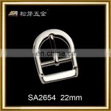 Nickel free hardware pin buckle fastening, 22mm pin belt buckle