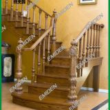 Yimeiden Staircase Supply Shenzhen Factory Preferential Price Solid Wood Overall Staircase YMD-1923