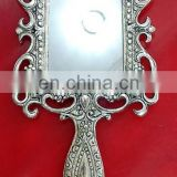 Rawat Handicrafts Indian Handmade Lac Beaded Glitter work Handicrafted make up mirror mr-82