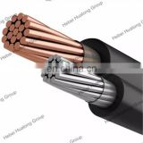 sunlight resistance 4mm2 x 2core Flat Solar DC Cable Solar PV cable pv1-f
