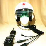 Helmets for internal cabin calls  Talk Helmet  Helicopter and fixed-wing helmet  Aviation Call System Motorcycle accessory helmet