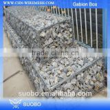 Alibaba China Sale Wire Mesh Gabion, Steel Wire Mesh Gabion Boxes Trellis & Gates, Round Welded Gabion Box