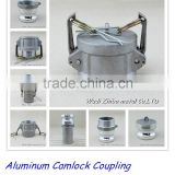 "Aluminum camlock coupling hose pipe fittings 1/2""-6"", A/B/C/D/E/F/DC/DP manufacturer"