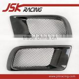 FOR EVO 10 EVO X CARBON FIBER FRONT BUMPER VENTS DUCT FOR MITSUBISHI LANCER EVO 10 EVO X