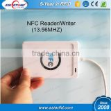 HOT selling 13.56mhz NFC smart Card Reader/Writer