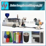 2015 CE single layer PP/PS/PE plastic sheet/film extruder/ double layer sheet extruder