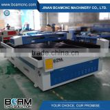 factory price 150W CO2 metal non-metal mix laser cutting machine for thin steel and nonmetal cnc laser cutter