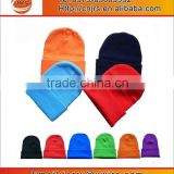 custom stretched colorful 100%acrylic knitted winter hats for men and women                                                                         Quality Choice