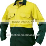 working / long sleeve safety shirt