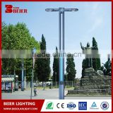 High Quality Light Pole With Generator Beier For Double Arm Street Light Pole,Light Pole