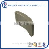 Hot Products Strong Arc Tile Permanent Sintered SmCo Magnet For Sale