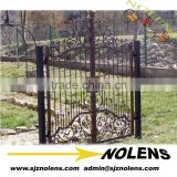 Hot sales decorative gates and fence design made by wrought iron/Custom Made Beautiful Wrought Iron Gates Models for Outdoor