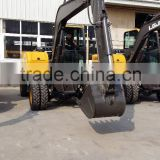 Hyundai Excavator Parts, Used Mini Excavator,LG6100 Excavator, Walking Wheel Excavator, 10T Wheel Excavator