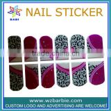 ornaments 2014 newest nail diy silk nails nail sticker with gum