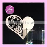 Wholesale craft supplier laser cut paper butterflies wed party decoration JK-53 Haoze brand
