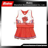 sublimation cheerleading uniform/sexy girl cheerleading uniform/sexy cheerleader uniform