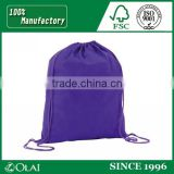 Custom non woven bag with zipper or drawstrings