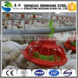environmental certificated steel structure prefabricated commercial used chicken house sale