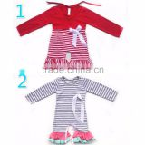 wholesale christmas long sleeve cotton romper winter baby clothes romper                                                                                                         Supplier's Choice