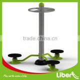 Buy China Factory High Quality Three Person Waist Twist Used Park Steel Outdoor Fitness
