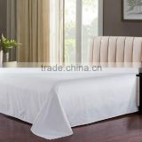 cheap promotion plain white T/C fabric bedding set for hospital and Hotel