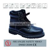 Composite/steel toe cap safety shoes leather shoes best for work time 9031