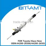 automobile types of steering gear box fit for Toyota Hiace New OEM:44200-26500/44200-26501