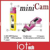 MP914 30fps mini lighter hidden camera
