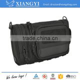 New design grooming kit heavy duty toiletry bag cosmetic bag with felt details                                                                                                         Supplier's Choice