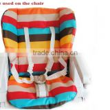 Baby Stroller Cushion Rainbow Striped Pad Pram Baby Car Seat Cushion 2014 new