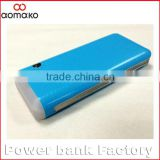 LP-502 Wholesale 3 USB fast charging portable mobile power bank 10000mah li-ion external battery charger