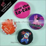 Guangzhou factory produce free stytle lovely blank button badges