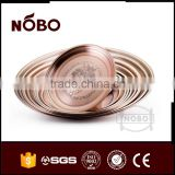 copper spraying stainless steel indianserving tray