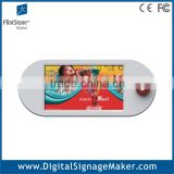 9 inch lcd battery operated shelf video screen
