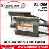 100% DSP and Smart Canbus IC Chips 18 Month AC 35W 55W HID Ballast For Xenon Light Bulbs