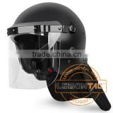 Riot Helmet adopts the structurally enhanced PC/ABS material with strong vibration-proof and high anti-impact ability