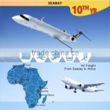Professinal Air cargo freight forwarders China to Lagos