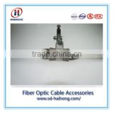 Suspension string for OPGW cable